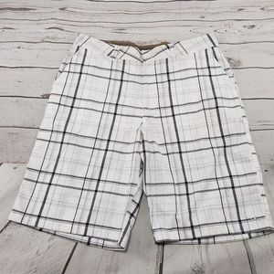 O'neill Shorts Size 34 Mens Plaid Checkered